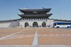 Gyeongbokgung palace in Seoul, Korea Stock Photography