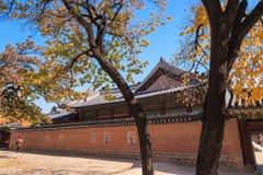 Gyeongbokgung palace in Seoul, Korea Royalty Free Stock Images