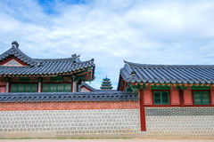 Gyeongbokgung Palace in Seoul  Korea. Stock Images
