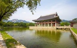 Gyeongbokgung Palace, Seoul, Korea Stock Photos