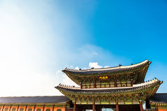 Gyeongbokgung palace in Seoul - Republic of Korea Royalty Free Stock Images