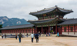 Gyeongbokgung Palace, Seoul Royalty Free Stock Photography