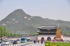 Gyeongbokgung palace in Seoul Royalty Free Stock Image