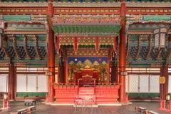 Gyeongbokgung palace in Seoul Stock Image