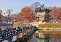 Gyeongbokgung Palace, Seoul, South Korea royalty free stock photos