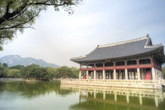 Gyeongbokgung Palace, Seoul, South Korea Stock Photography