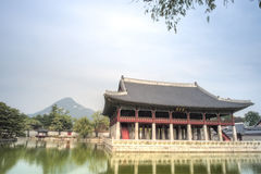 Gyeongbokgung Palace, Seoul, South Korea Stock Photo