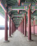 Gyeongbokgung Palace, Seoul, South Korea Royalty Free Stock Photo