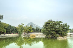Gyeongbokgung Palace, Seoul, South Korea Stock Photos