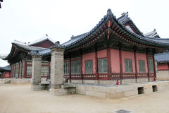 Gyeongbokgung Palace in Seoul, South Korea Stock Photo