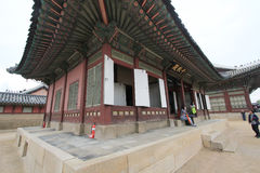 Gyeongbokgung Palace in Seoul, South Korea Royalty Free Stock Photography