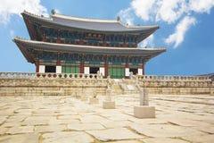 Gyeongbokgung Palace in Seoul, South Korea Stock Photos