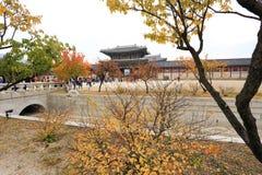 Gyeongbokgung palace Stock Image