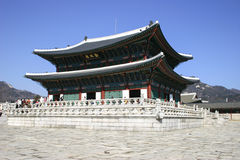 Gyeongbokgung palace, Seoul, South Korea Royalty Free Stock Image