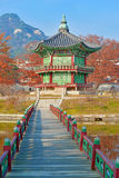 Gyeongbokgung Palace, Seoul, South Korea Royalty Free Stock Images
