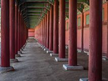 Gyeongbokgung Palace in Seoul,South Korea. Stock Images