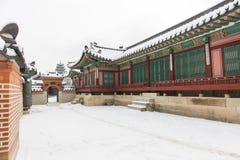 Gyeongbokgung Palace Seoul,South Korea. stock photo