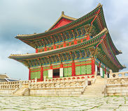 Gyeongbokgung Palace. South Korea. Royalty Free Stock Photography