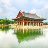 Gyeongbokgung Palace. South Korea. Royalty Free Stock Photo