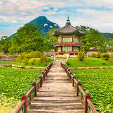 Gyeongbokgung Palace. South Korea. Stock Photo