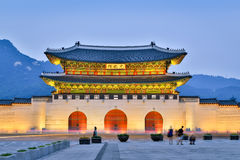 Gyeongbokgung Palace At Twilight Royalty Free Stock Photo