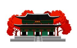 Gyeongbokgung Palast Nationales Volksmuseum von Korea
