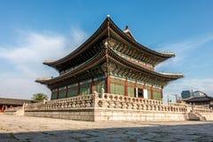Gyeongbokgung Palast Nationales Volksmuseum von Korea Stockfotos