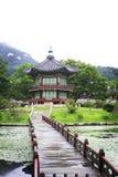 Gyeongbokgung Palast Nationales Volksmuseum von Korea Lizenzfreie Stockfotos