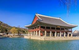 Gyeongbokgung Palast in Seoul Lizenzfreie Stockfotos