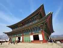 Gyeongbokgung slott Fotografering för Bildbyråer