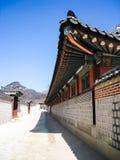 Gyeongbokgung slott Royaltyfri Bild