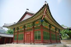 Gyeongbokgung slott i Seoul, Korea Royaltyfri Bild