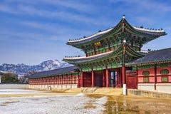 Gyeongbokgungpaleis stock foto