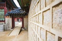 Gyeongbokgungpaleis Stock Afbeeldingen