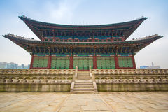Gyeongbokgungpaleis stock foto's