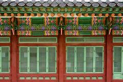 Gyeongbokgungpaleis, Seoel, Zuid-Korea royalty-vrije stock foto's