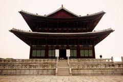 Gyeongbokgungs-Palast-Äußeres Stockfoto