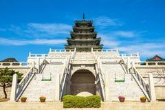 Gyeongbokgungs-Palast in Seoul, Korea Lizenzfreies Stockfoto