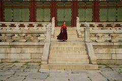 Gyeongbokgungs-Palast Seoul Südkorea stockfotos