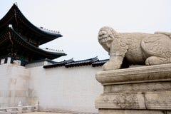 Gyeongbokgungs-Palast-Statue Lizenzfreie Stockbilder