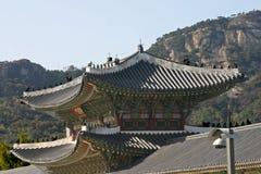 Gyeongbokpaleis Seoel Royalty-vrije Stock Afbeelding