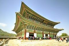 Gyeongbokpaleis, Seoel, Korea Royalty-vrije Stock Afbeelding