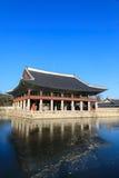 Gyeonghoeru Pavilion in Gyeongbokgung palace stock photography