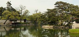 Gyeonghoeru Pavilion of Gyeongbokgung Palace, Seoul, South Korea Royalty Free Stock Photography