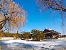 Gyeonghoeru Pavilion Stock Image