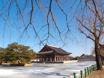 Gyeonghoeru Pavilion. Is a place where royal banguet was held during the Joseon Dynasty in South Korea Stock Image