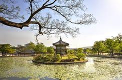 Gyeonghoeru Pavilion, Seoul, Korea Royalty Free Stock Photography