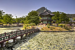 Gyeonghoeru Pavilion, Seoul, Korea Stock Image