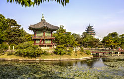 Gyeonghoeru Pavilion, Seoul, Korea Stock Images