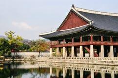 Gyeonghoeru (Royal Banquet Hall) Stock Photos
